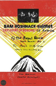 SB Quintet poster