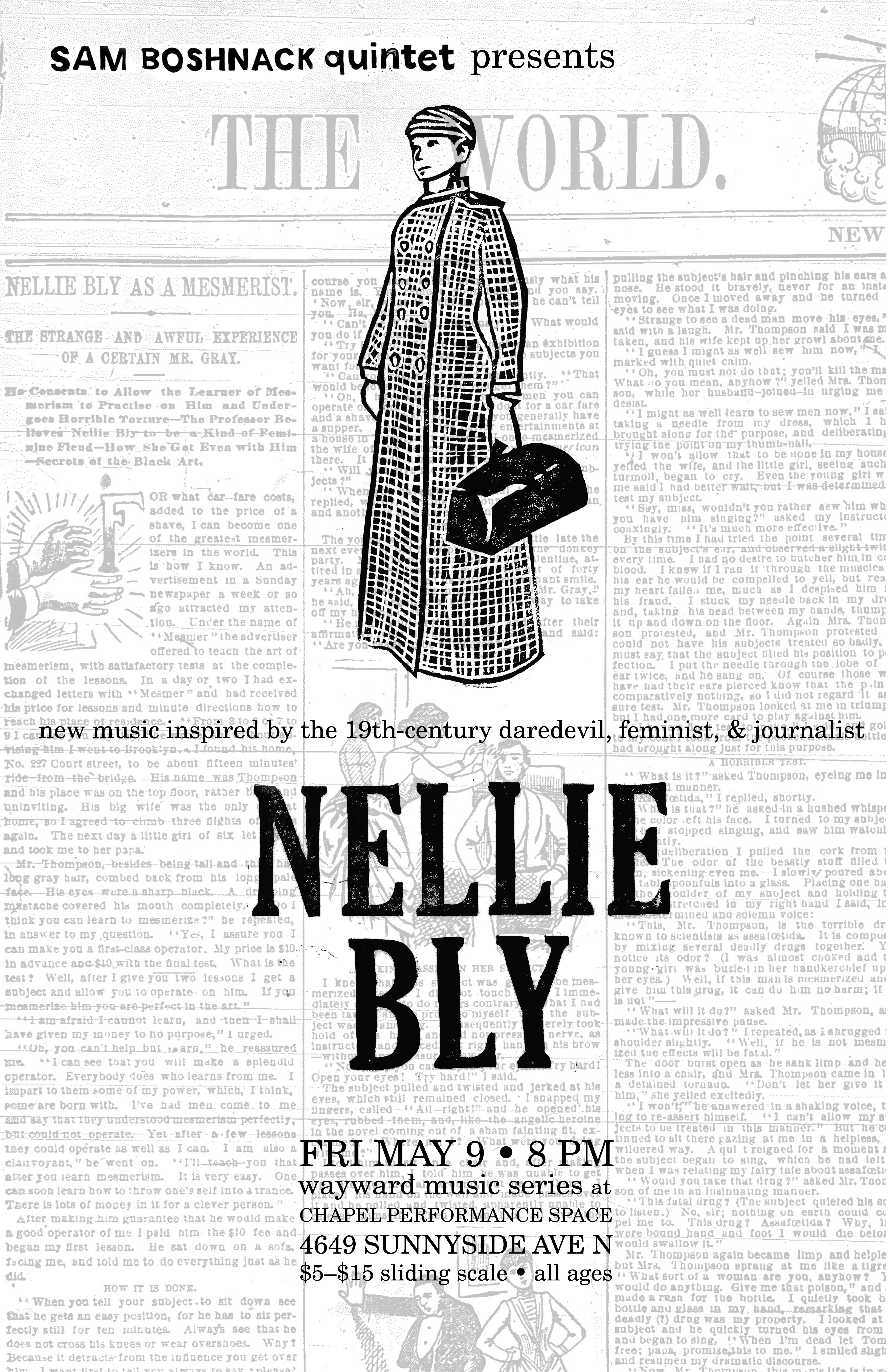 Nellie Bly S Letter To The Dispatch